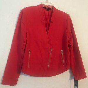 NWT. Dark orange blazer.